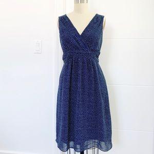 Maternity Polkadot Sleeveless Dress
